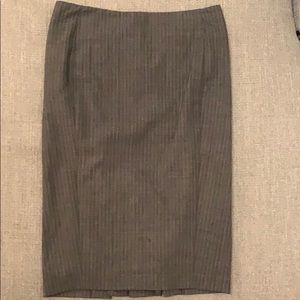 Club Monaco pin striped pencil skirt